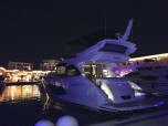 Even at night the Sunseeker Manhattan 52 looks incredible