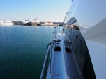 Sunseeker Cyprus were lucky to have perfect weather for the handover