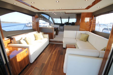 The interior of 'OPTIONS' is warm, spacious and inviting