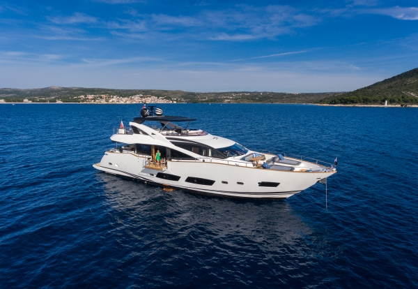 The stunning 28m Yacht currently lays in Croatia ready to meet her new owner