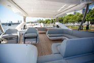 The 75 Yacht has a stunning flybridge