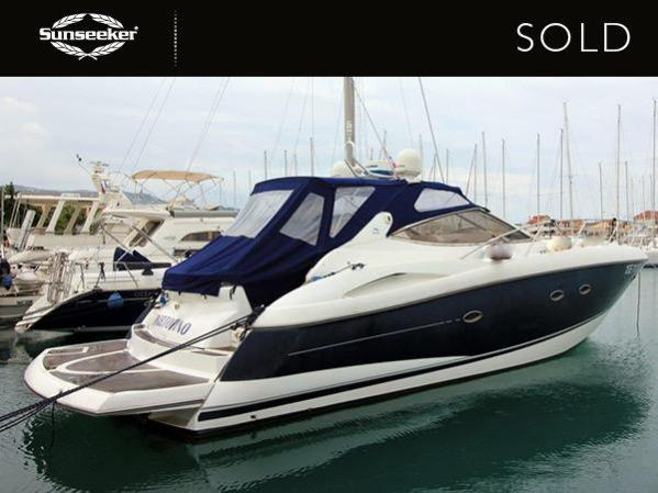 Excited to be a new Sunseeker Owner, her owner will cruise this stunning Portofino 46 in the Ionian Sea this Summer