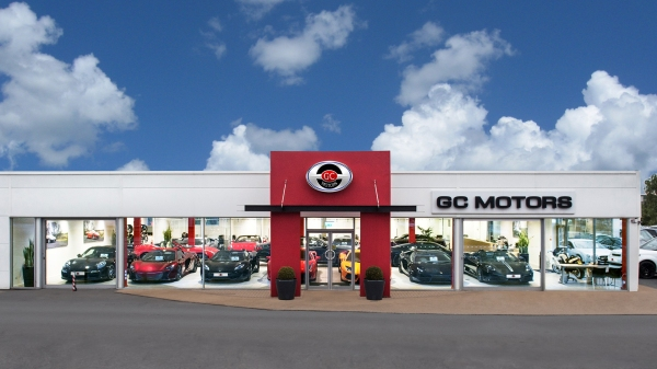 GC MOTORS, the UK's Largest Independent Sports, Prestige & 4x4 Dealer who have a showcase of cars on display at the show