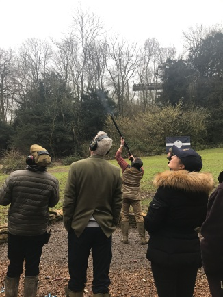 The 25 clay shooting sequence proved to be very difficult