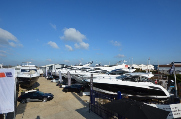 Only a month to go until the Poole Pre-Season boat show!