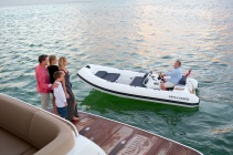 Williams Tenders are the perfect tender for a Sunseeker Yacht