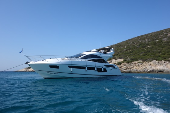 The sleek Sunseeker 68 Sport Yacht 'LARA' has been sold by Matt Stanton in conjunction with Ensign Ship Brokers