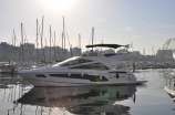 With low hours, she is in a immaculate condition and a stunning boat ideal for the Mediterranean