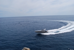 The San Remo hits just over speedy 30 knots