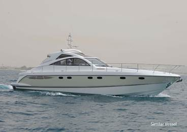 The beautiful Fairline Targa 52 GT, motor yacht 'NATRIUM' is listed for 400,000
