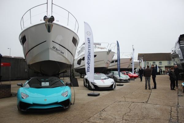 The Sunseeker Pre-Season Boat Show ran from 10th-12th March 2017 and was a hit!