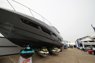 The Sunseeker Pre-Season Boat show displayed a range of exciting water sports equipment such as Seadoo Jet Skis