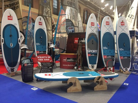 The latest summer accessory: RED SUP paddle board, make sure to get yours at the Sunseeker Pre-Season Boat Show
