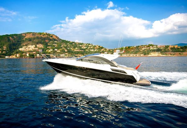 The speedy Sunseeker San Remo will be showcased this weekend at the Premier Powerboat and Rib Show