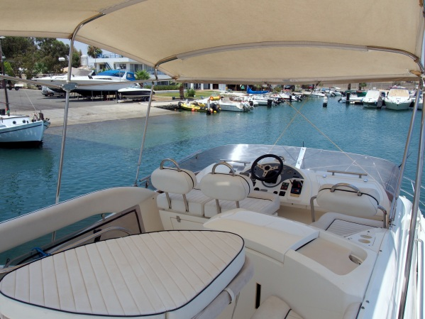 'SEA FOX' has a great flybridge to sail from and also to sit back and relax on