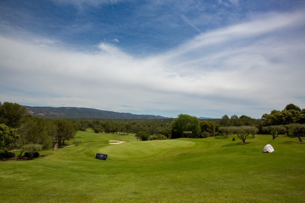 "The green at the prestigious ""Les Domaines De Saint Endreol"" Golf and Spa resort"
