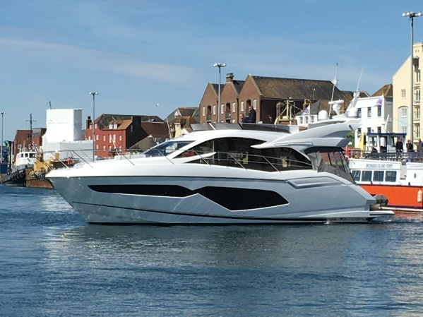 The stunning Manhattan 52, Sunseeker's fasted selling model ever
