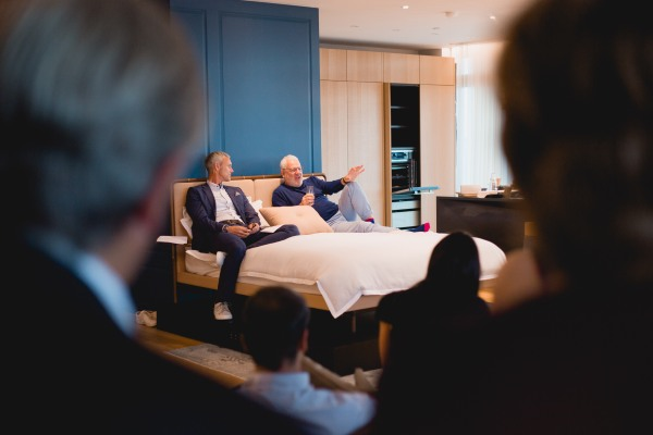 Host Mark Foster joins Ray Kelvin on his bed for a fun, laid-back interview