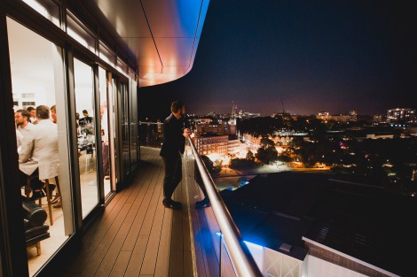 The stunning view from the Terrace Mount penthouse