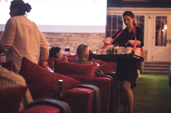 With food and nibbles being personally delivered, guests are free to sit back and relax for the duration of the evening