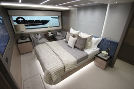 AJI enhance the beauty of our yachts with their luxurious yacht interior styling